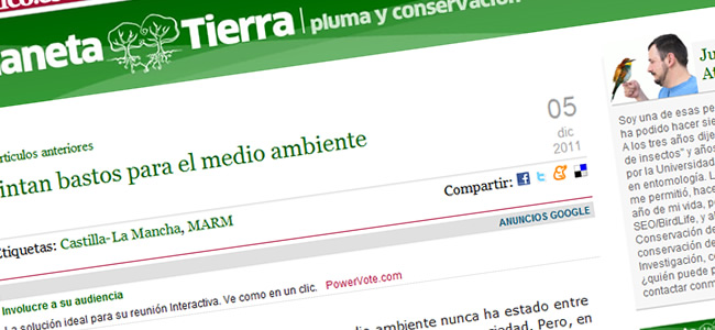 Blog Planeta Tierra